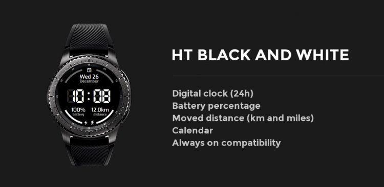características gear blanco y negro