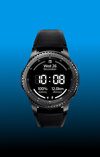 watchface blanco y negro captura