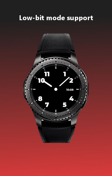 ht army watchface low bit
