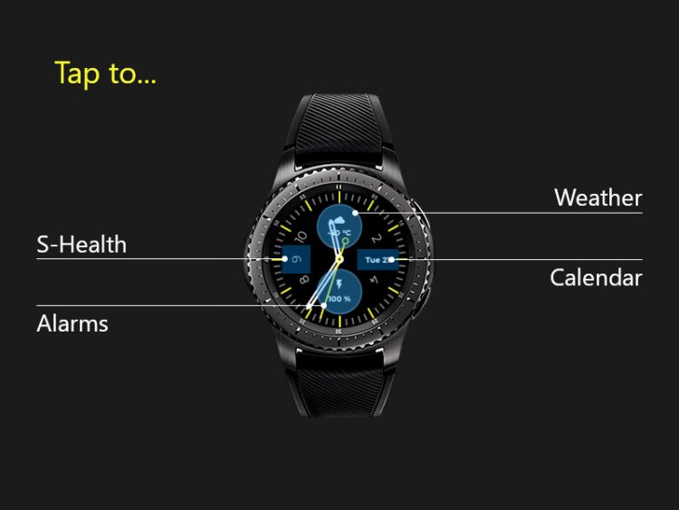 galaxy watch s4 interactive