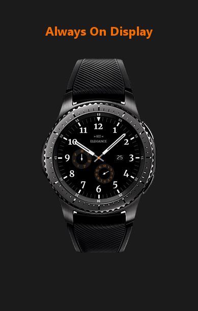 aod ht elegance watch